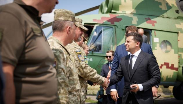 Зеленский прибыл с рабочей поездкой в Донецкую область