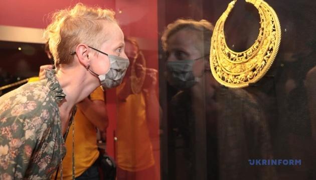 В Киеве открыли резонансную выставку «Пектораль. Находка столетия»