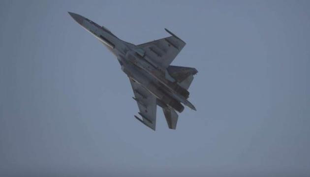 В РФ разбился истребитель Су-35
