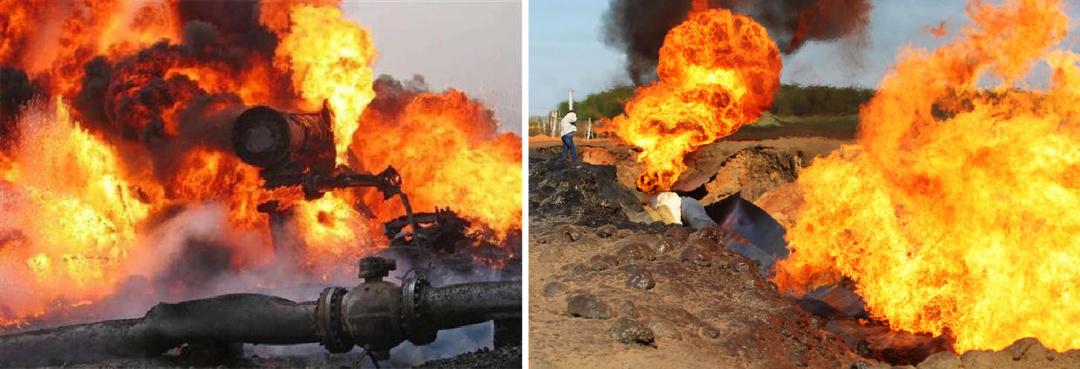 Этот взрыв прекратил транзит газа в Казахстан