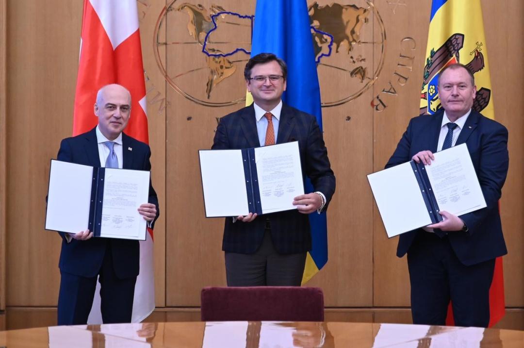 Україна, Грузія та Молдова започаткували Асоційоване Тріо / Фото: МЗС України