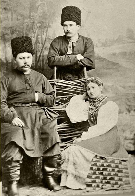 Марко Кропивницький, Микола Садовський і Марія Заньковецька (1883-1884 рр.)