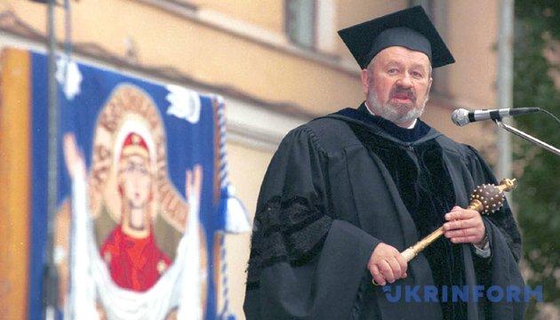 На фото: президент академії В'ячеслав Брюховецький. Із фондів Укрінформу.