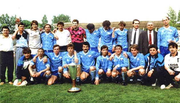 На фото: Команда ФК «Таврія» 1992 рік. Фото tavriya.com.ua