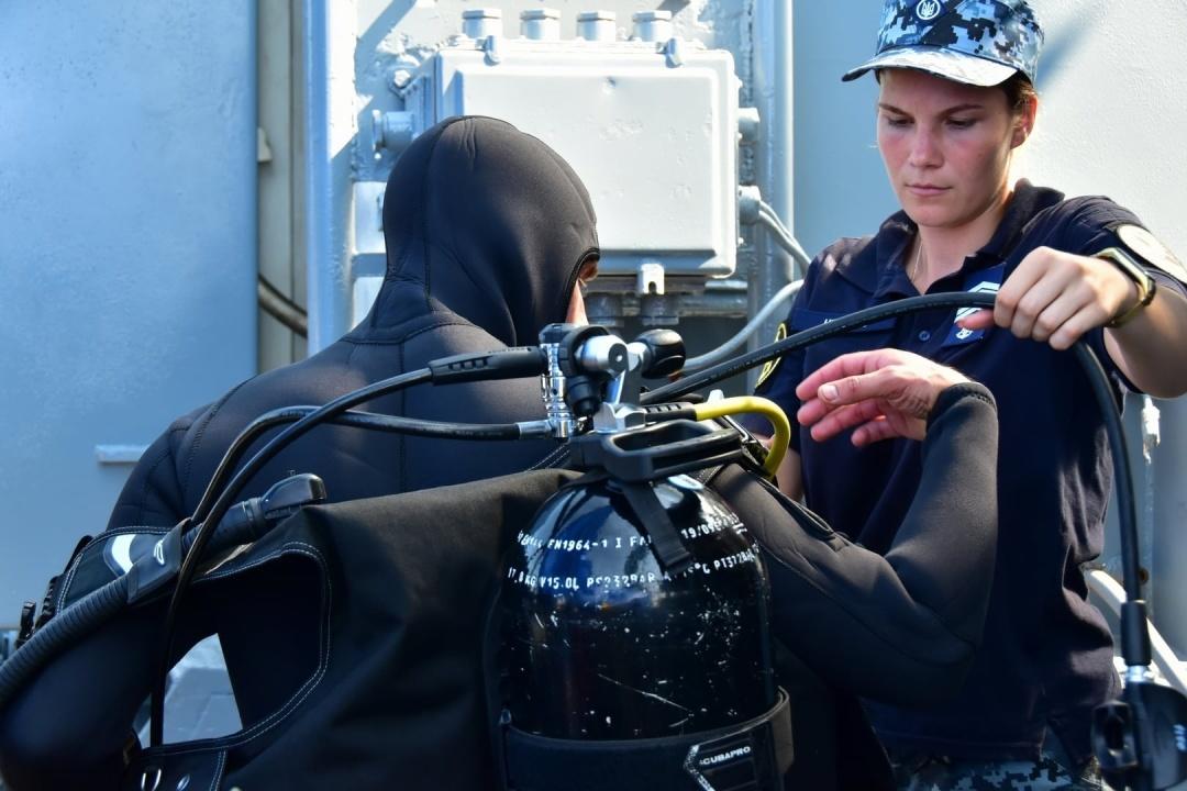 В Черном море проходят многонациональные противоминные учения «Дайв-2021». Мы участвуем (ФОТО) 9