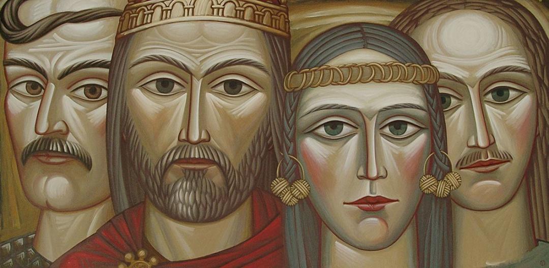 Перші київські кязі на чолі з Києм