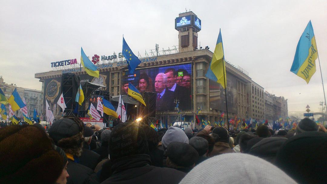 Сенатор Джон Маккейн виступає на Євромайдані