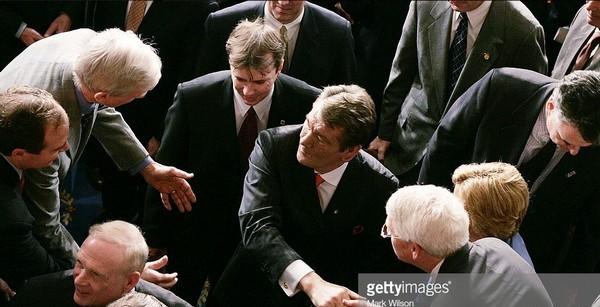 Президент України Віктор Ющенко в Конгресі США, 7 квітня 2005 року