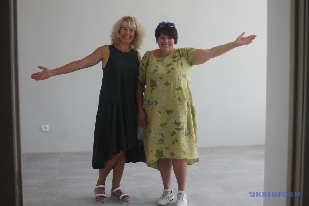За всі соціальні новації в Шишаках відповідають Наталія Завалідер (зліва) та Світлана Васильченко