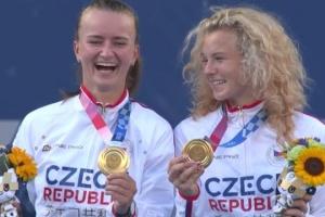 Чеські тенісистки виграли парний розряд Олімпіади-2020