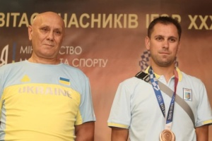 Бронзовый призер Олимпиады Рейзлин вернулся домой