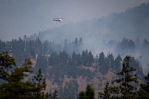 На заході Канади вирують лісові пожежі, Ванкувер затягує димом