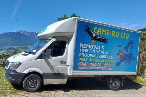 Британський перевізник брендує свої вантажівки мапою з Україною без Криму