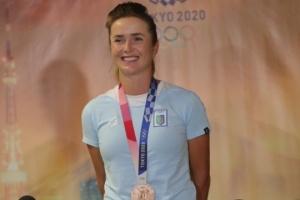 Еліна Світоліна повернулася додому після Олімпіади