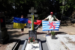 У Люксембурзі відновили могилу сотника Армії УНР Осипа Твердовського