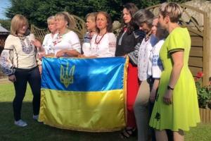 Українки з усього світу долучаються до флешмобу з нагоди ювілею Незалежності України