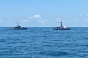 Моряки України і Грузії провели у Чорному морі навчання PASSEX