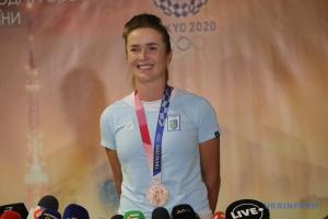 Elina Svitolina revient en Ukraine après les Jeux olympiques
