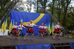 В Красногоровке отмечают седьмую годовщину освобождения от российской оккупации