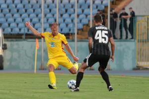 Хет-трик Кочергіна допоміг «Зорі» розгромити «Інгулець» у футбольній Прем'єр-лізі