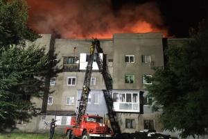 Масштабна пожежа у Запоріжжі: на місці працювали 60 рятувальників