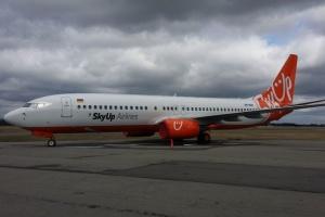 SkyUp поповнила свій парк тринадцятим літаком