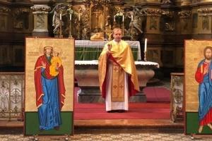 У Будапешті священик УГКЦ відслужив службу для українців