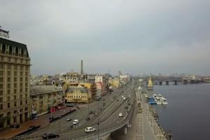 У Києві обмежать рух на Набережно-Хрещатицькій