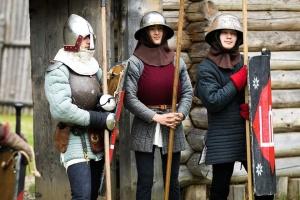 На Львівщині проходить наймасштабніший фестиваль-табір середньовіччя «ТуСтань!»