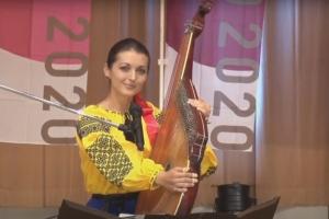 Українська бандуристка виступила на міжнародному фестивалі в Японії