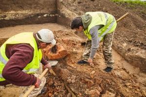 На Львівщині знайшли тисячолітній горн