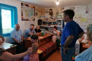Голова Союзу українців Румунії зустрівся з діаспорою Тулчанського повіту
