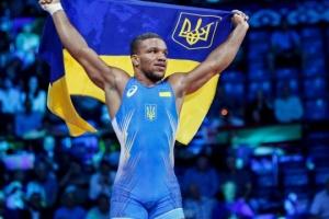 Борец Жан Беленюк принес Украине первое олимпийское «золото» в Токио 2020