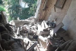 Красногорівку обстріляли окупанти, поранили місцевого жителя