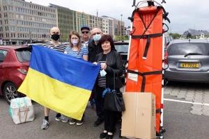 Діаспора передала в Україну допомогу з Люксембургу
