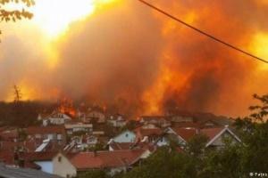Північна Македонія оголосила кризову ситуацію через лісові пожежі