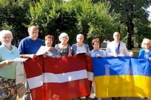 У Латвії вшанували пам'ять розстріляних у карельському урочищі Сандармох