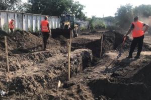 На месте массовых расстрелов НКВД возле Одесского аэропорта начали раскопки