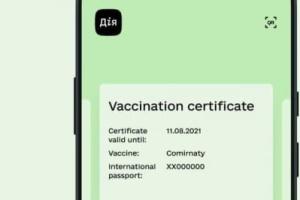 Международный COVID-сертификат теперь можно распечатать с портала «Дія» - инструкция