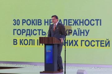 Kuleba habla de cuatro paneles temáticos de la cumbre de la Plataforma de Crimea