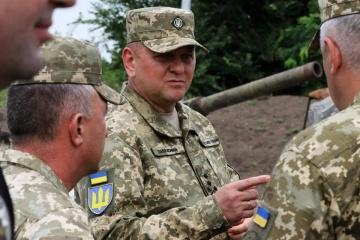 Главнокомандующий ВСУ объяснил причины временного запрета чиновникам посещать зону ООС