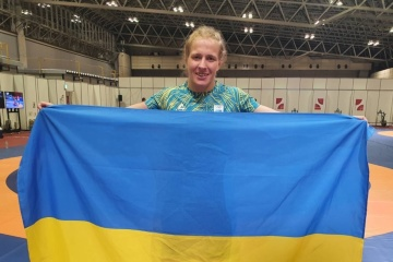 Президент поздравил украинскую борчиху Черкасову с «бронзой» токийской Олимпиады