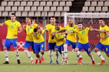 Футболисты Испании и Бразилии сыграют в финале Олимпиады-2020