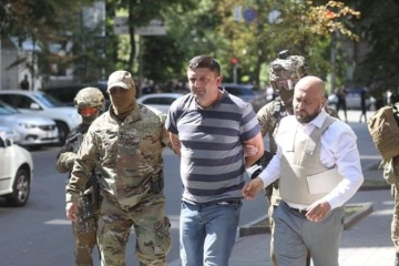 Police detain war veteran threatening to set off grenade in Cabinet of Ministers HQ