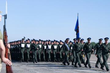 Erste Paradeprobe zum Unabhängigkeitstag