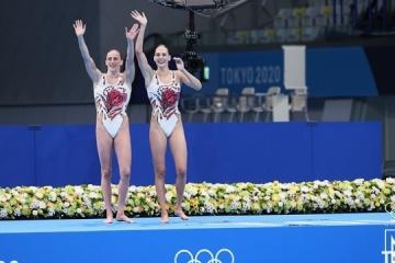 Ukrainian artistic swimmers win historic bronze at Tokyo 2020
