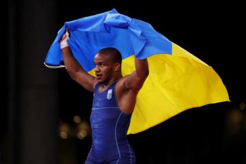 Olympiade 2020: Ringer Beleniuk holt erste Goldmedaille für die Ukraine