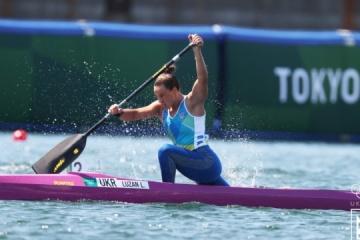 Canoeist Liudmyla Luzan wins bronze medal at 2020 Olympics