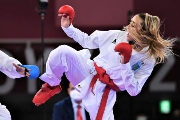 Karateka Terliuga se cuelga la plata de los Juegos Olímpicos de 2020