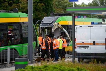 У Познані зіштовхнулися трамваї, десятки постраждалих